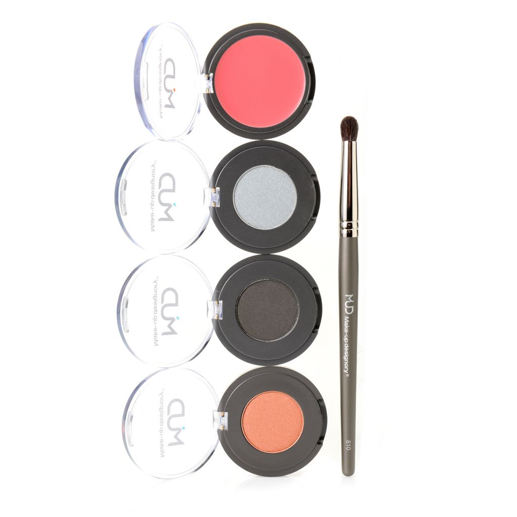 """308-605 - MUD Four-Piece """"Muse"""" Color Collection for Eyes, Lips & Face"""