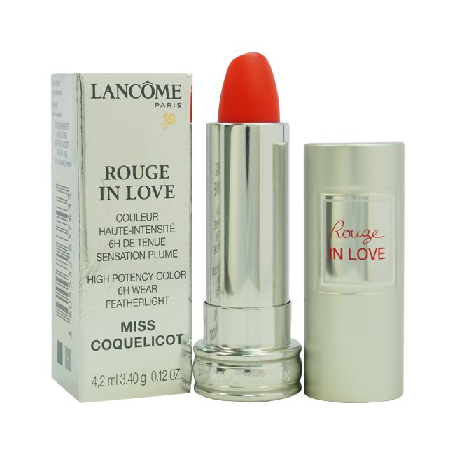 308-624 - Lancome Rouge In Love High Potency Color Lipstick 0.12 oz