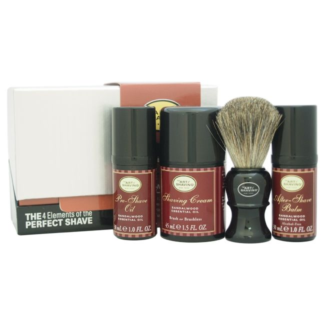 308-652 - The Art of Shaving Four-Piece Elements of The Perfect Shave Mid-Size Kit