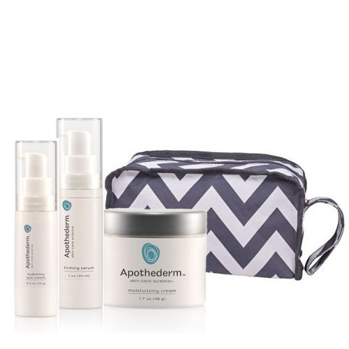 308-664 - Apothederm™ Firming Serum, Moisturizing Cream & Hydrating Eye Cream Anti-Aging Trio w/ Bag