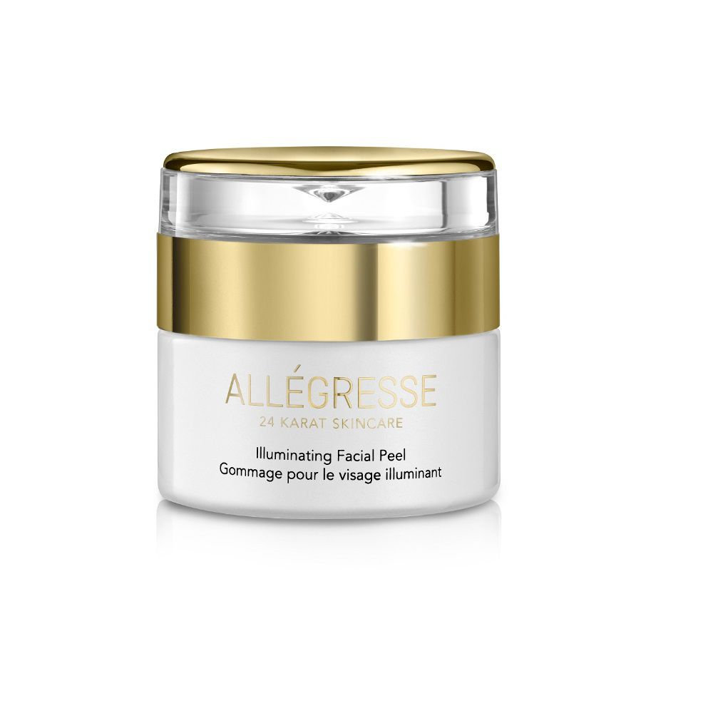 308-687 - ALLEGRESSE 24K Skincare Illuminating Facial Peel 1.7 oz