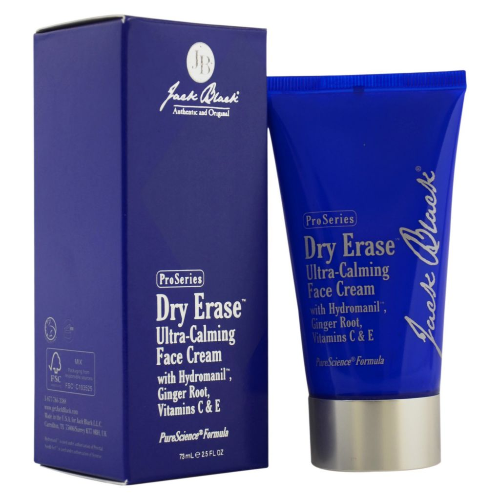 308-697 - Jack Black Dry Erase Ultra-Calming Face Cream 2.5 oz