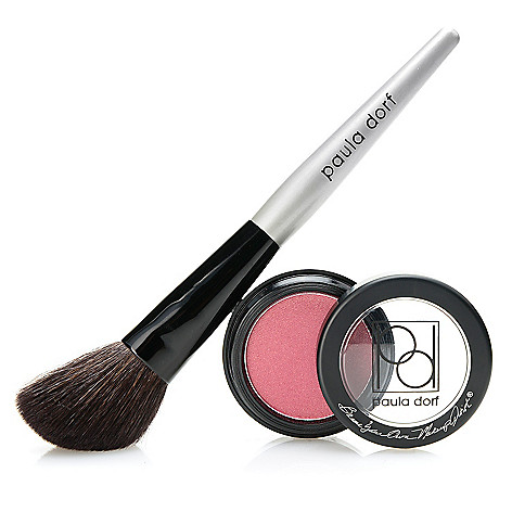 308-745 - Paula Dorf Cosmetics Powder Cheek Color w/ Application Brush