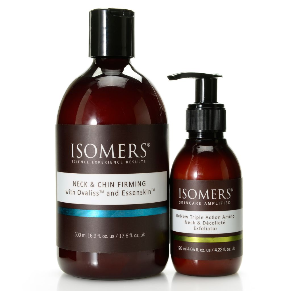 308-746 - ISOMERS® Two-Piece Exfoliate & Firm Neck, Chin & Decollete Skincare Set