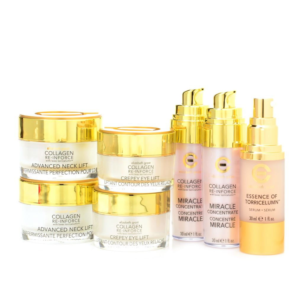 308-921 - Elizabeth Grant Seven-Piece Collagen Re-Inforce Firming Set w/ Essence of Torricelumn™