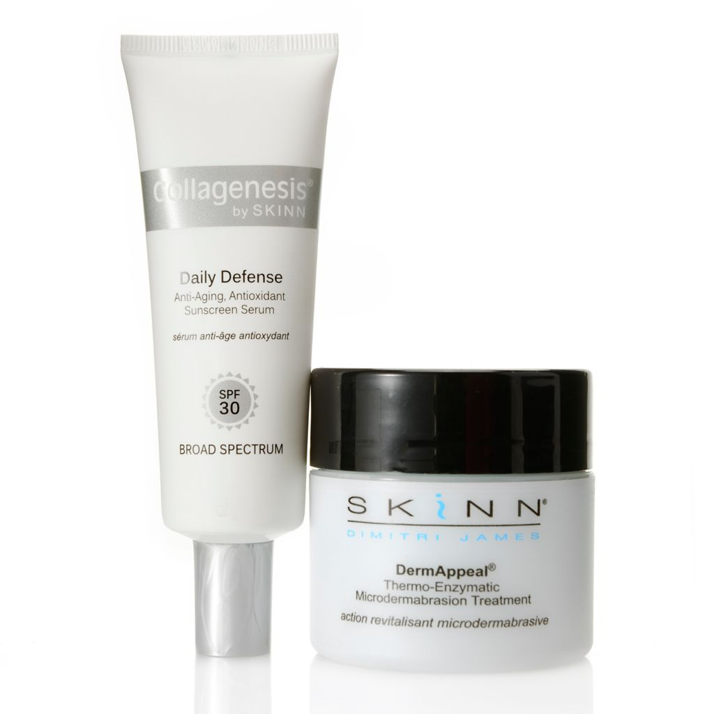 308-925 - Skinn Cosmetics DermAppeal® Treatment & Daily Defense SPF 30 Serum Duo