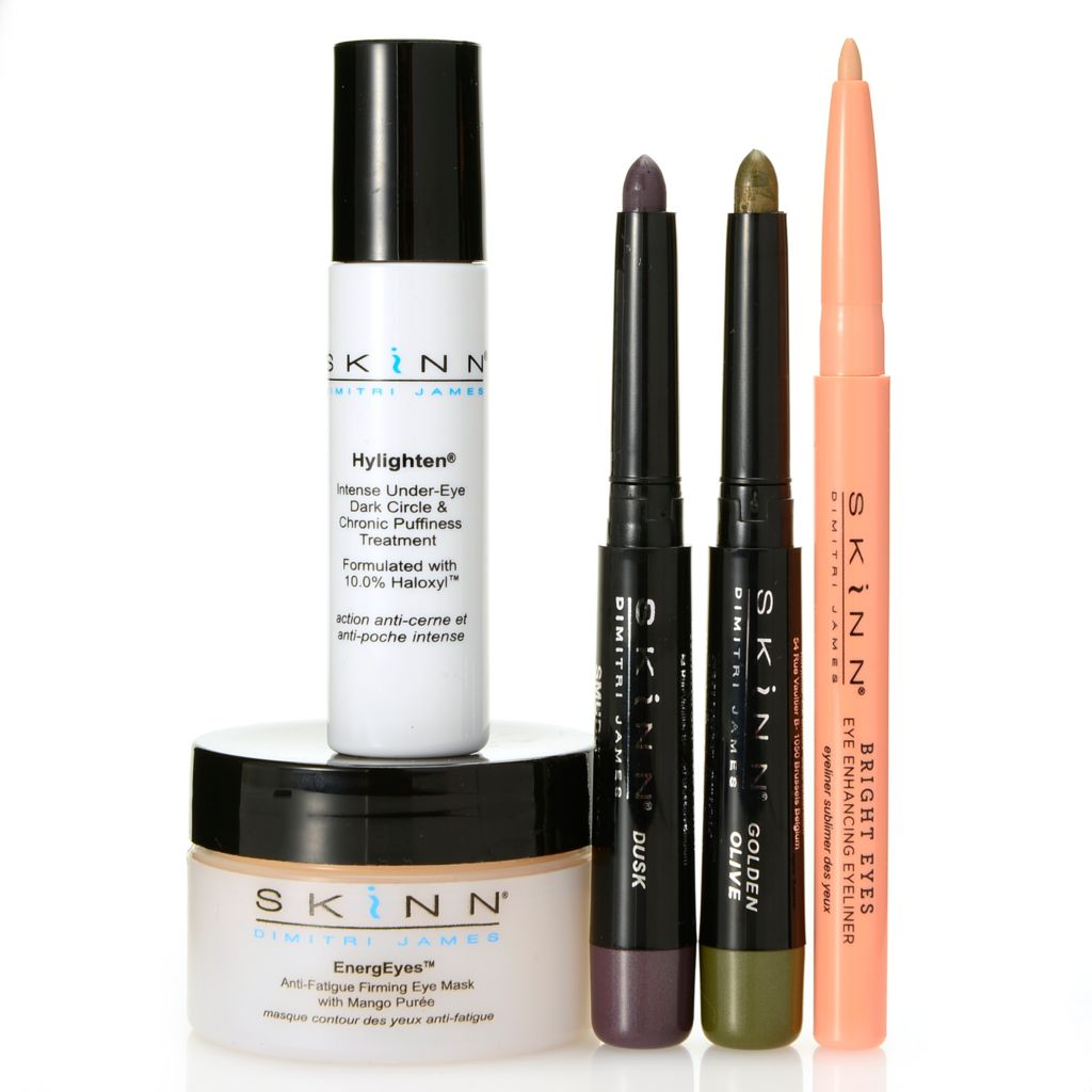308-926 - Skinn Cosmetics Five-Piece Eye Enhancing Skincare & Color Collection