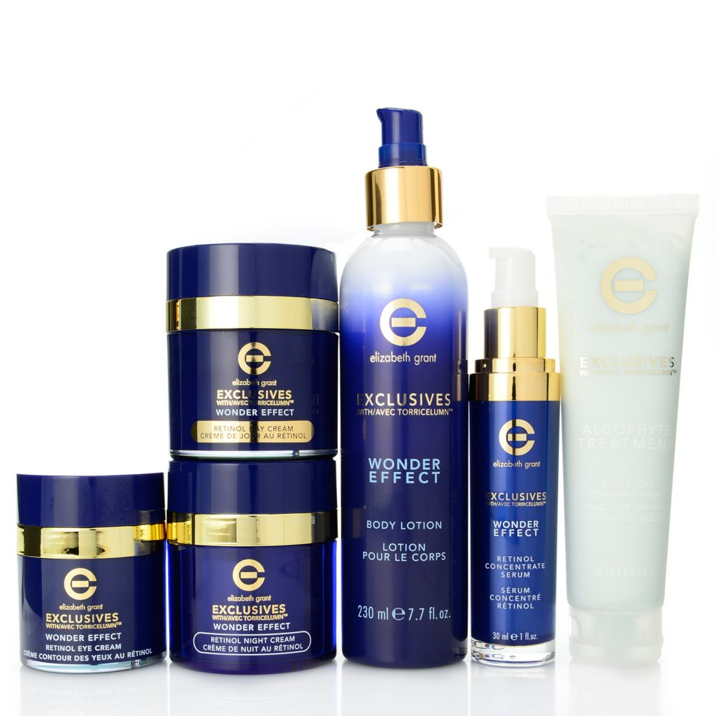 308-938 - Elizabeth Grant Six-Piece Complete Exclusives Wonder Effect Skincare Collection