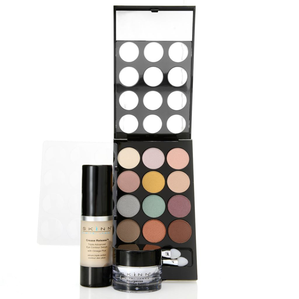308-954 - Skinn Cosmetics Daily Duo for Eyes w/ Luxe Premier Fairy Tale Eyeshadows Palette