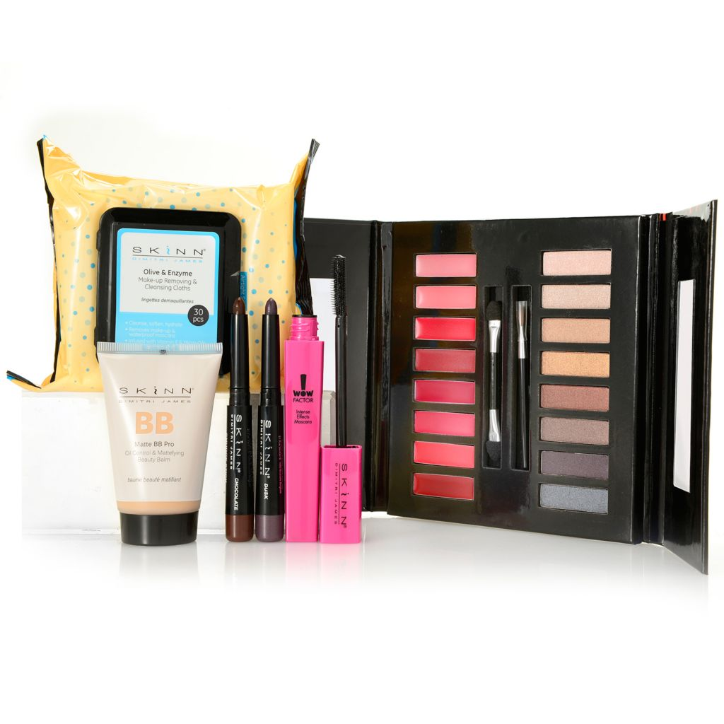 308-959 - Skinn Cosmetics Six-Piece Fall Color Makeover Collection