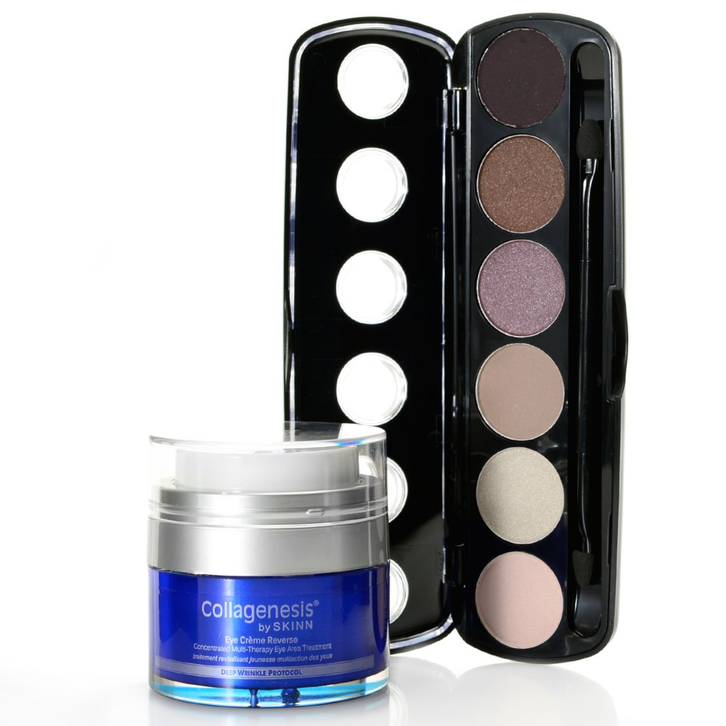 308-962 - Skinn Cosmetics Collagenesis® Eye Creme Reverse & Patina Eyeshadows Palette Duo