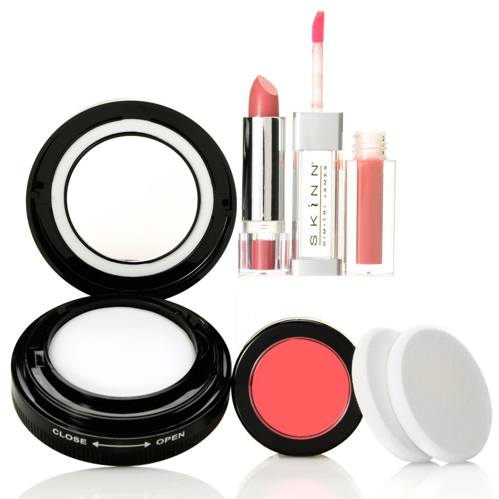 308-966 - Skinn Cosmetics Three-Piece Plasma Flawless Finish™ & Color Set w/ Two Extra Sponges