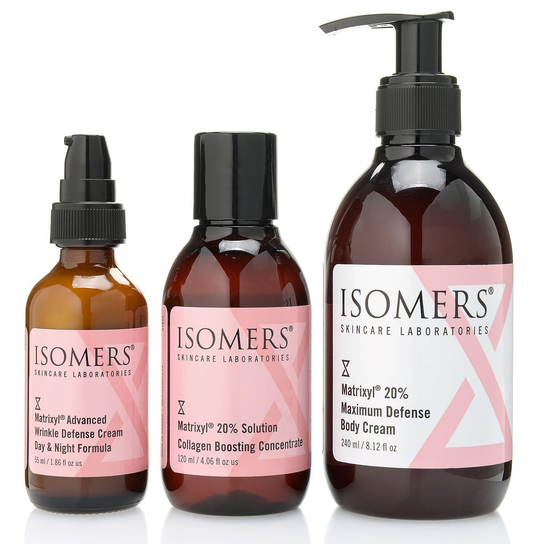 311-292- ISOMERS Skincare Three-Piece Bonus Size Matrixyl 20% Anti-Wrinkle Set