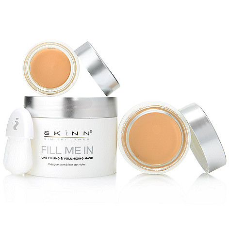 "313-026- Skinn Cosmetics 3pc ""Fill Me In"" Anti-Aging Mask, Foundation & Concealer Set"