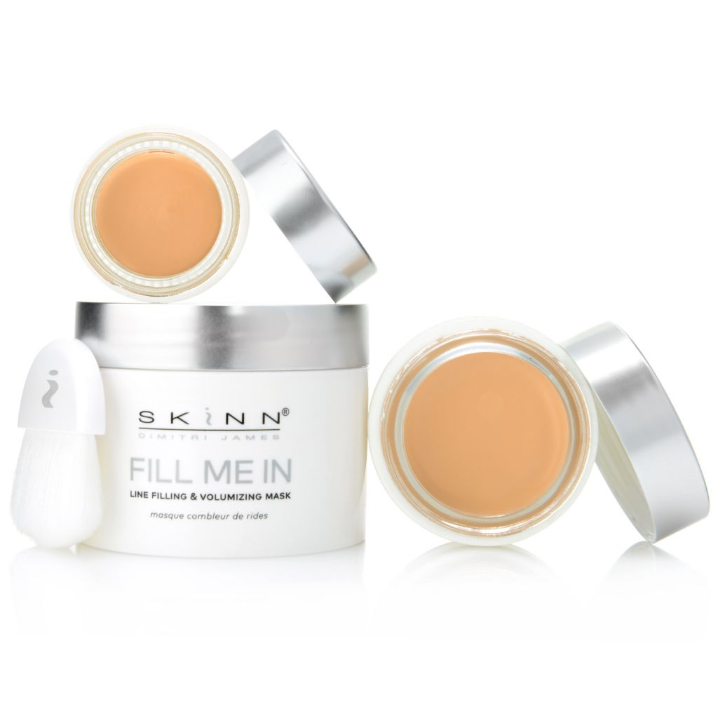 """313-026- Skinn Cosmetics 3pc """"Fill Me In"""" Anti-Aging Mask, Foundation & Concealer Set"""