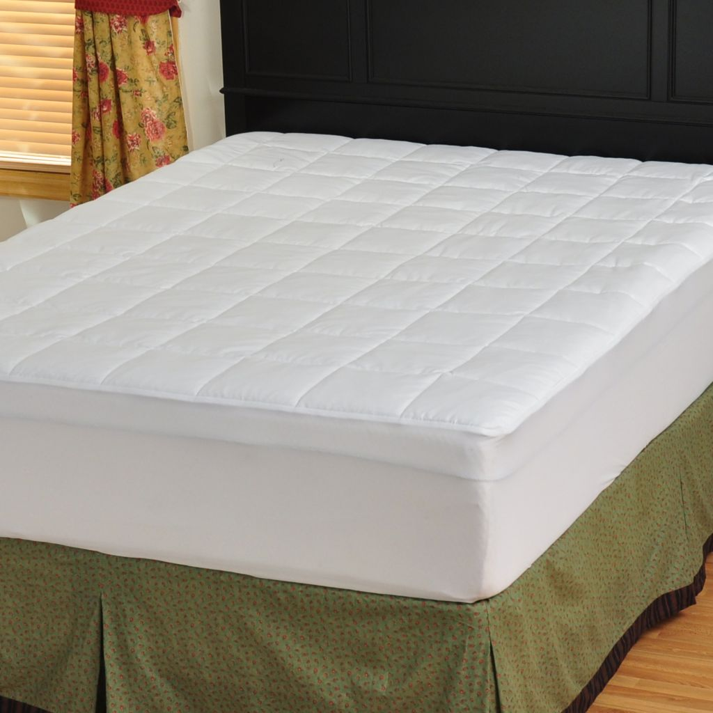 401-736 - Outlast 350TC 100% Cotton Mattress Pad w/ Fitted Skirt
