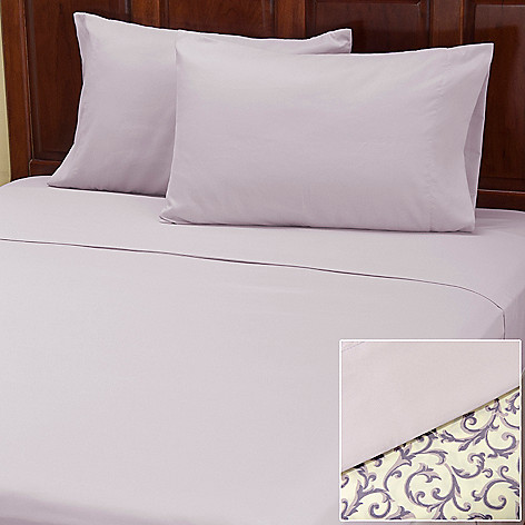 401-962 - Cozelle™ ''Savannah'' Microfiber Four-Piece Sheet Set - Set of Two