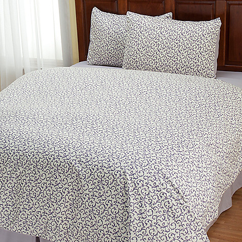 401-964 - Cozelle® ''Savannah'' Microfiber Three-Piece Duvet Set