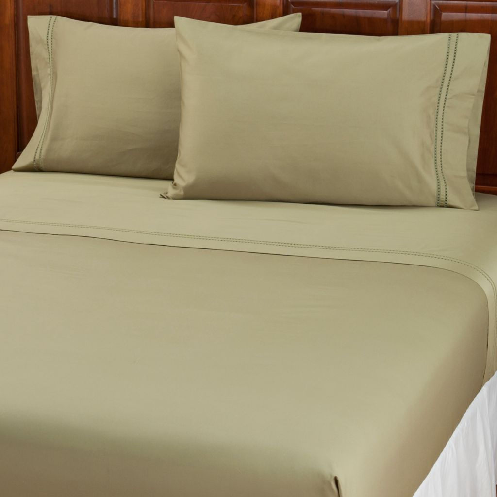 402-030 - North Shore Linens™ 700TC Egyptian Cotton Four-Piece Sheet Set