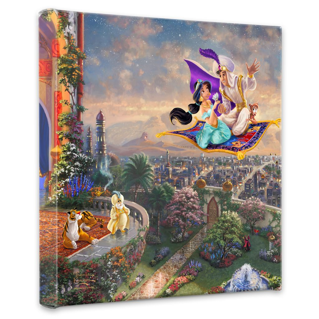 "403-271 - Thomas Kinkade Disney Dreams Collection 14"" x 14"" Gallery Wrap"