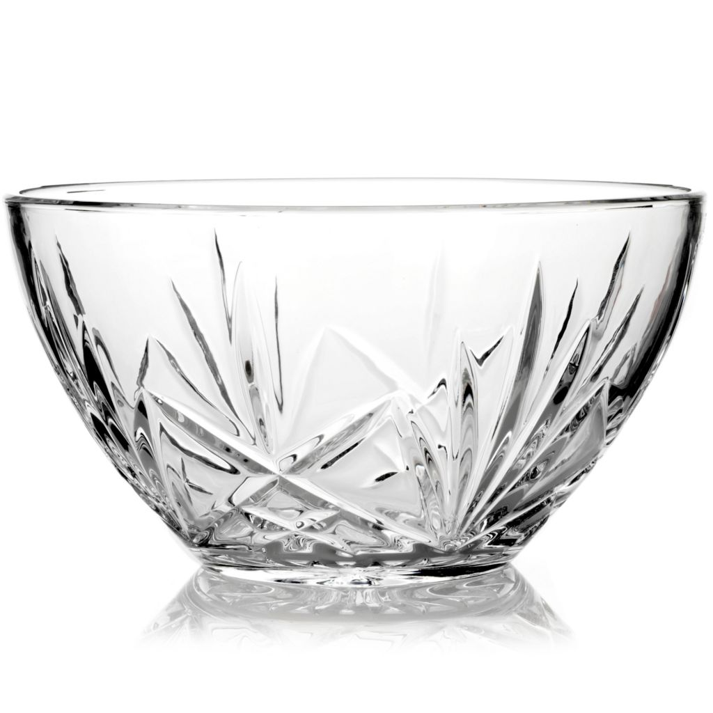 "404-195 - Marquis® by Waterford® Brookside 10"" Crystal Bowl"