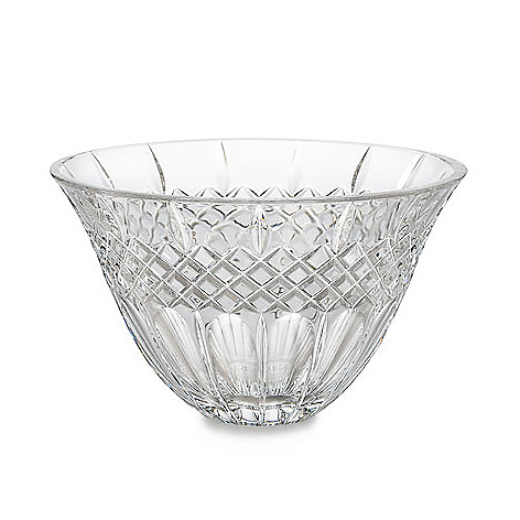 404-451 - Marquis by Waterford Shelton 8'' Flared & Diamond Cut Crystalline Bowl