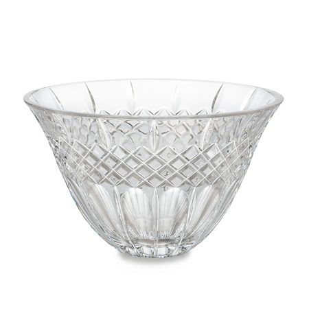 "404-451 - Marquis® by Waterford® Shelton 8"" Flared & Diamond Cut Crystalline Bowl"