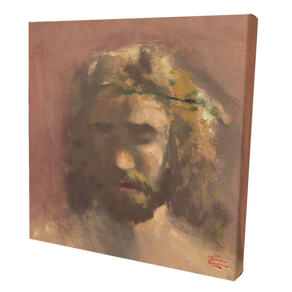 "404-788 - Thomas Kinkade ""Prince of Peace"" 14"" x 14"" Gallery Wrap"