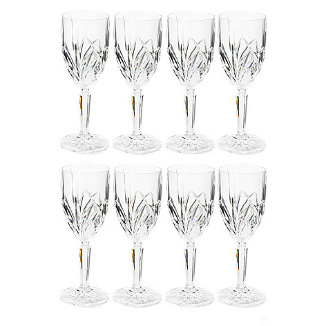 405-549 - Marquis® by Waterford® Brookside Set of Eight Crystalline Glasses