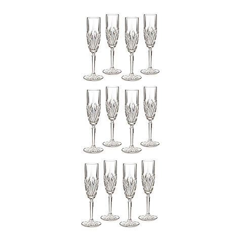 405-550 - Marquis by Waterford Brookside Set of 12 Crystalline Glasses