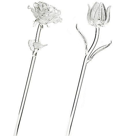 405-827 - Waterford Crystal Fleurology Flower Pair