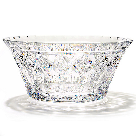406-077 - House of Waterford St. Paul's Tower 10'' Crystal Bowl