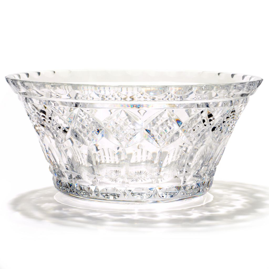 "406-077 - House of Waterford St. Paul's Tower 10"" Crystal Bowl"