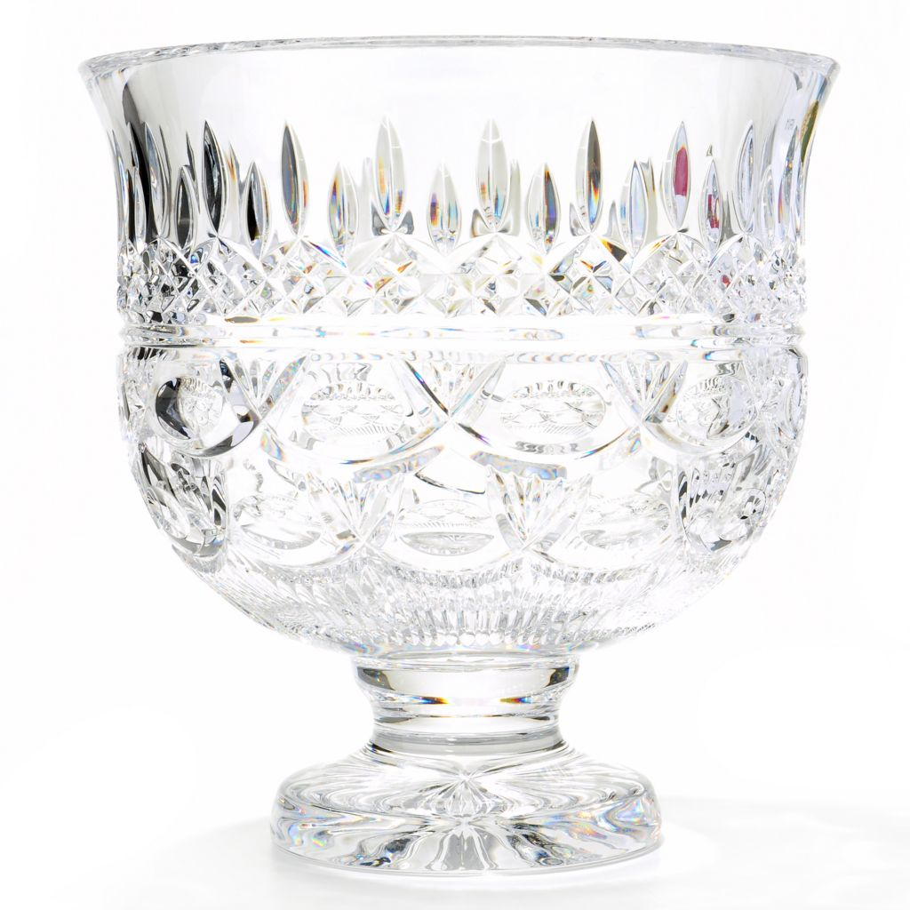 "406-078 - House of Waterford® Lismore 60th Anniversary 10"" Crystal Trifle Bowl"
