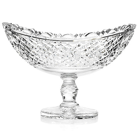 406-307 - House of Waterford Prestige Collection 13.25'' Crystal Boat Bowl