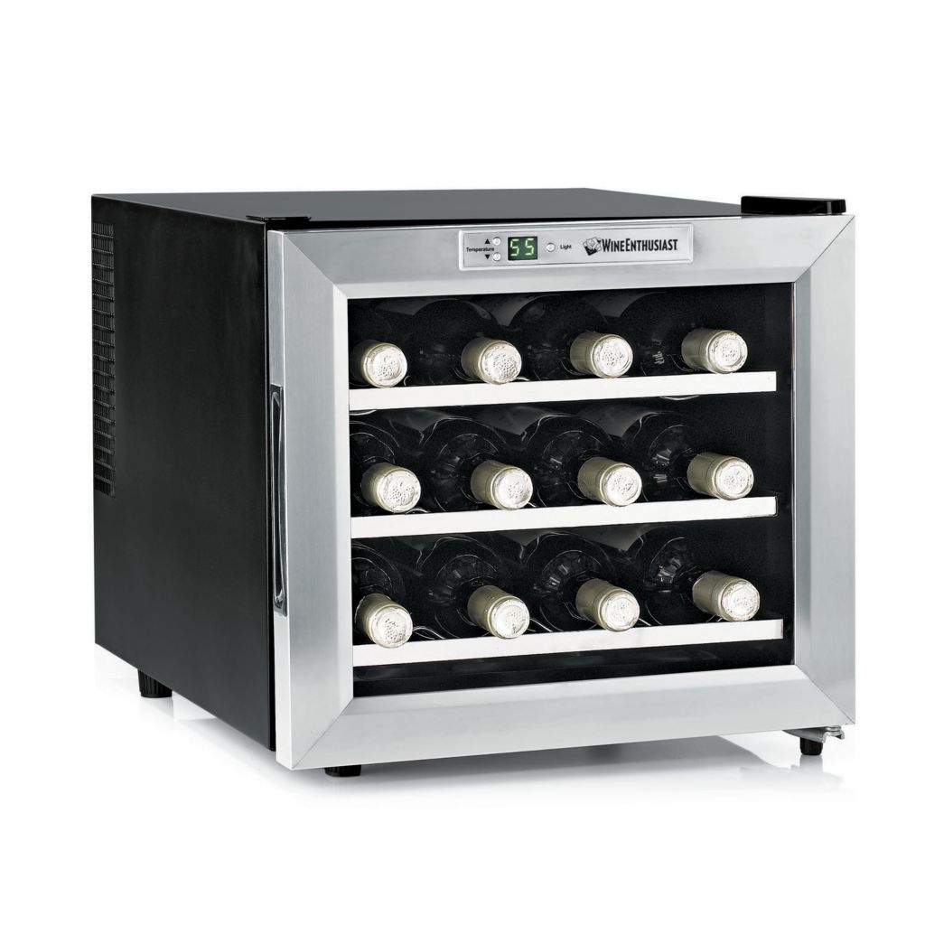 407-480 - Wine Enthusiast Silent 12 Bottle Wine Refrigerator