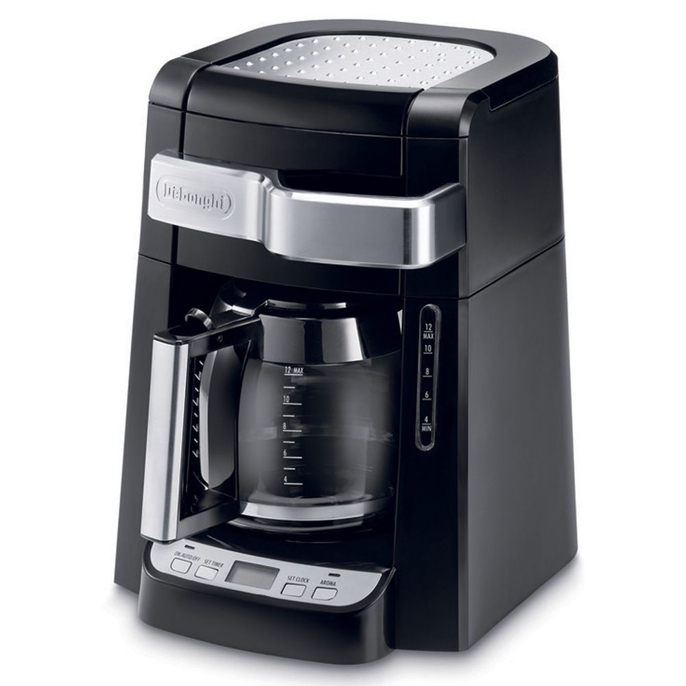 409-056 - DeLonghi 12-Cup Drip Coffee Maker w/ Complete Front Access