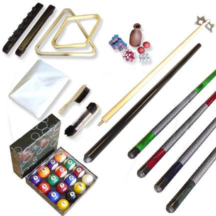 410-668 - Pool Table 32-Piece Accessory Kit