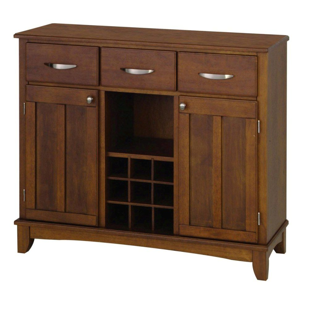 412-349 - Home Styles Medium Cherry Finish Top Large Server