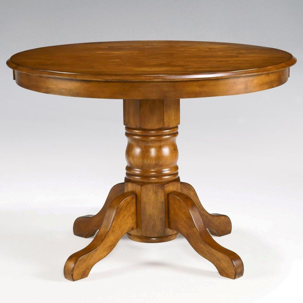 412-361 - Home Styles Cottage Oak Finish Round Pedestal Dining Table