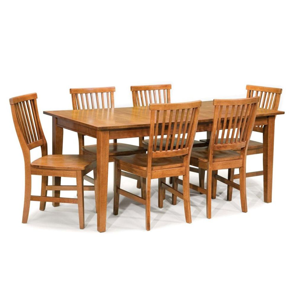 412-369 - Home Styles Arts & Crafts Collection Seven-Piece Dining Set