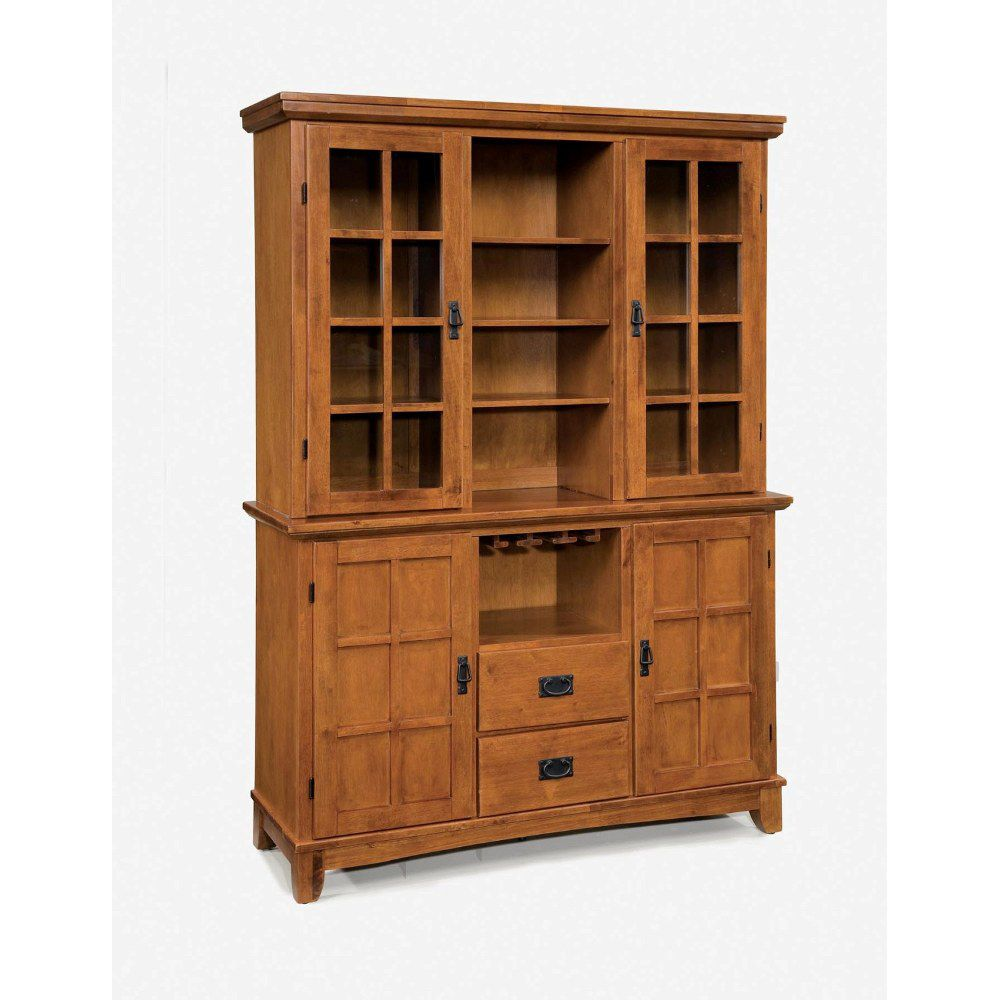 412-374 - Home Styles Arts & Crafts Collection Dining Buffet w/ Hutch