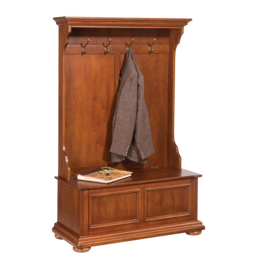 412-419 - Home Styles Homestead Collection Hall Tree & Storage Bench