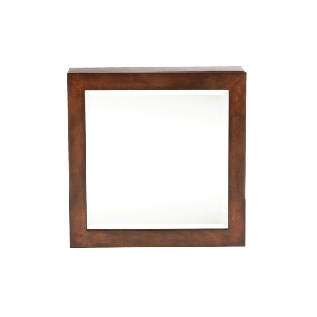 412-702 - Espresso Square Jewelry Armoire Wall-Mount