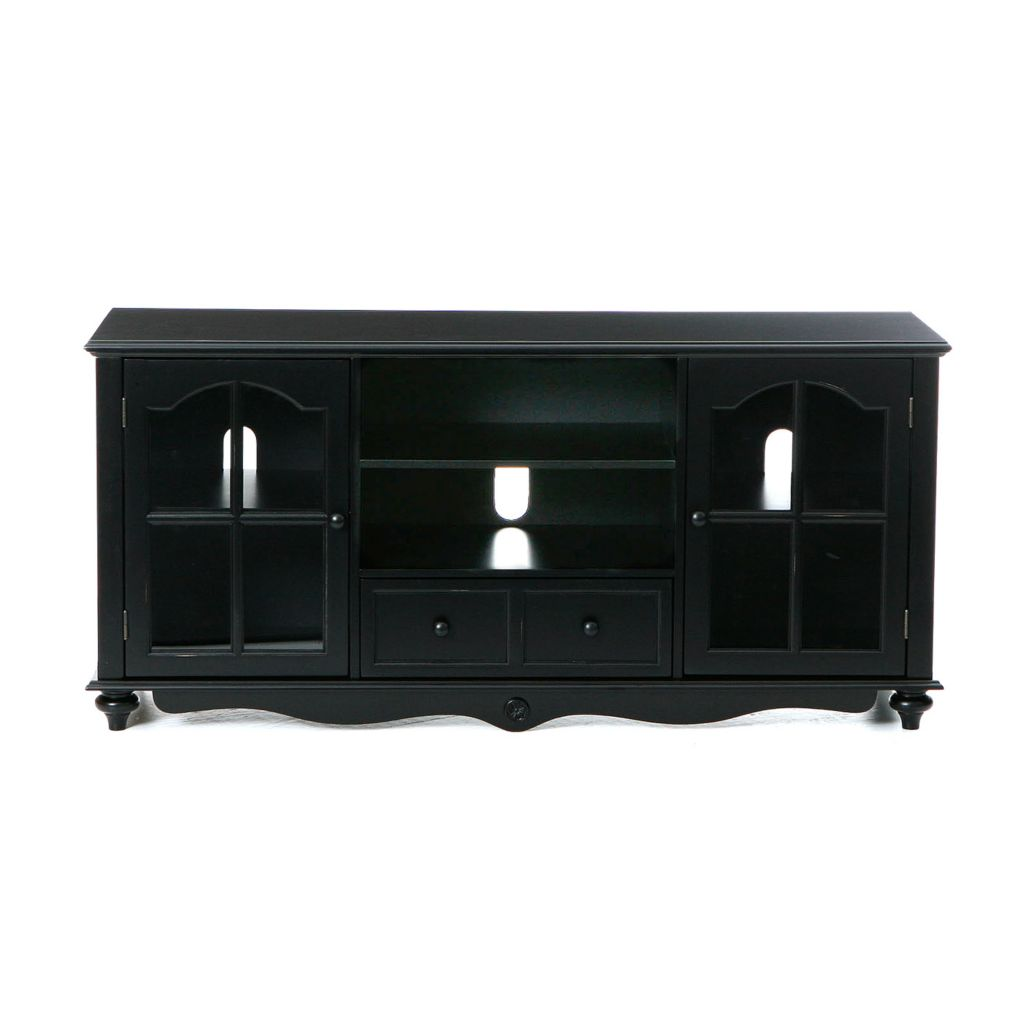 412-711 - Antique Black Coventry Large TV Console