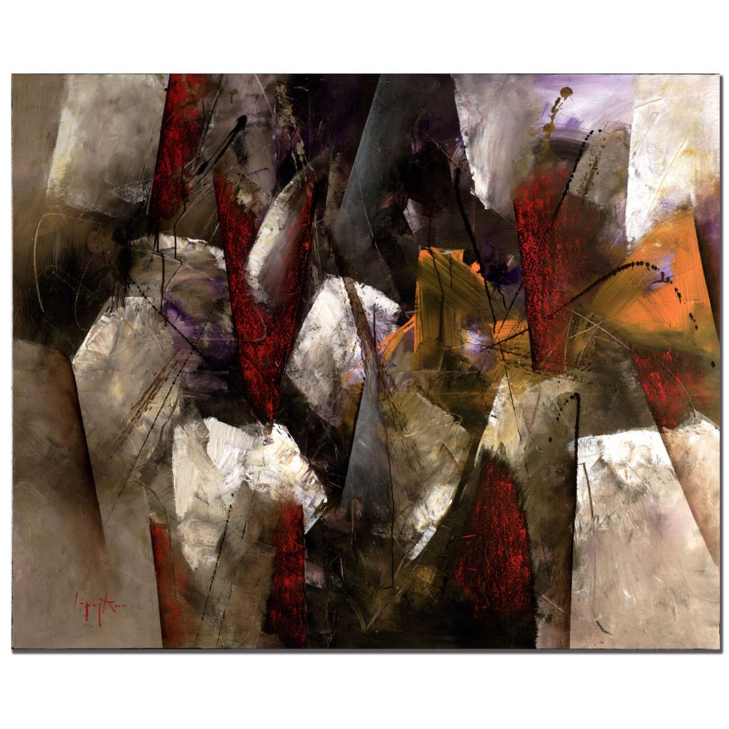 """415-357 - Abstract II by Lopez 26"""" x 32"""" Gallery Wrap"""