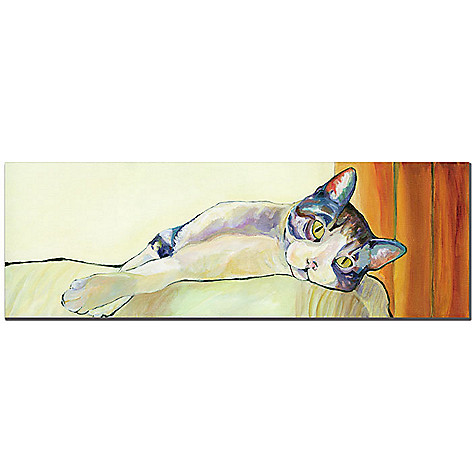 415-394 - Sunbather by Pat Saunders-White -8x24 Ready to Hang Art