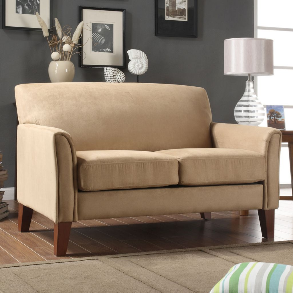 415-993 - Uptown Collection Peat Microfiber Loveseat
