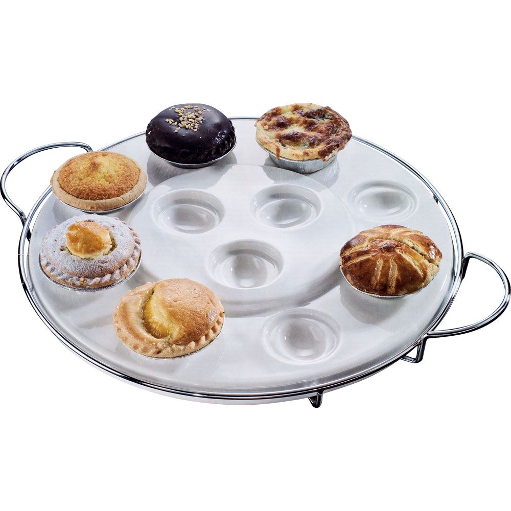 417-319 - Godinger Two-Tier Multipurpose Serving Tray