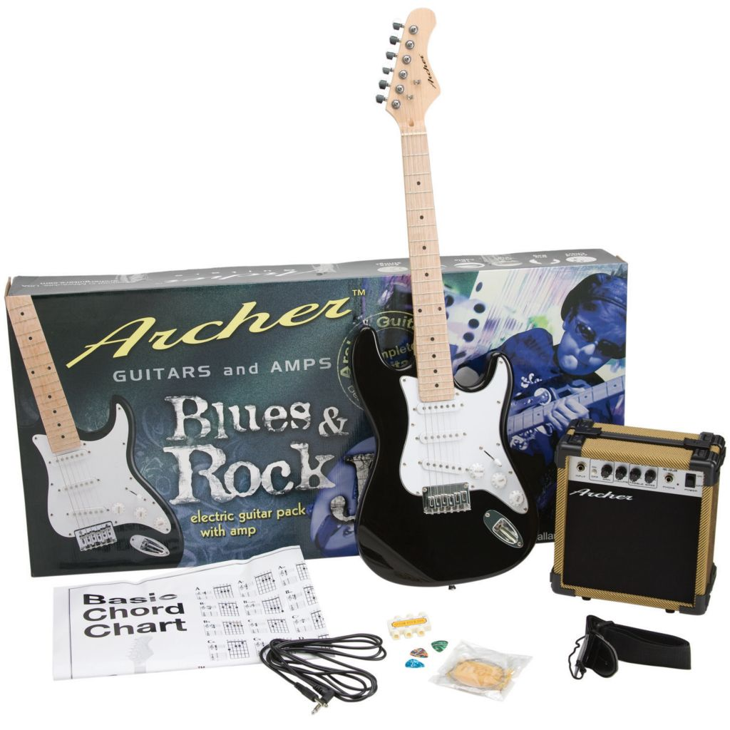 417-999 - Archer Blues & Rock Junior Electric Guitar Package